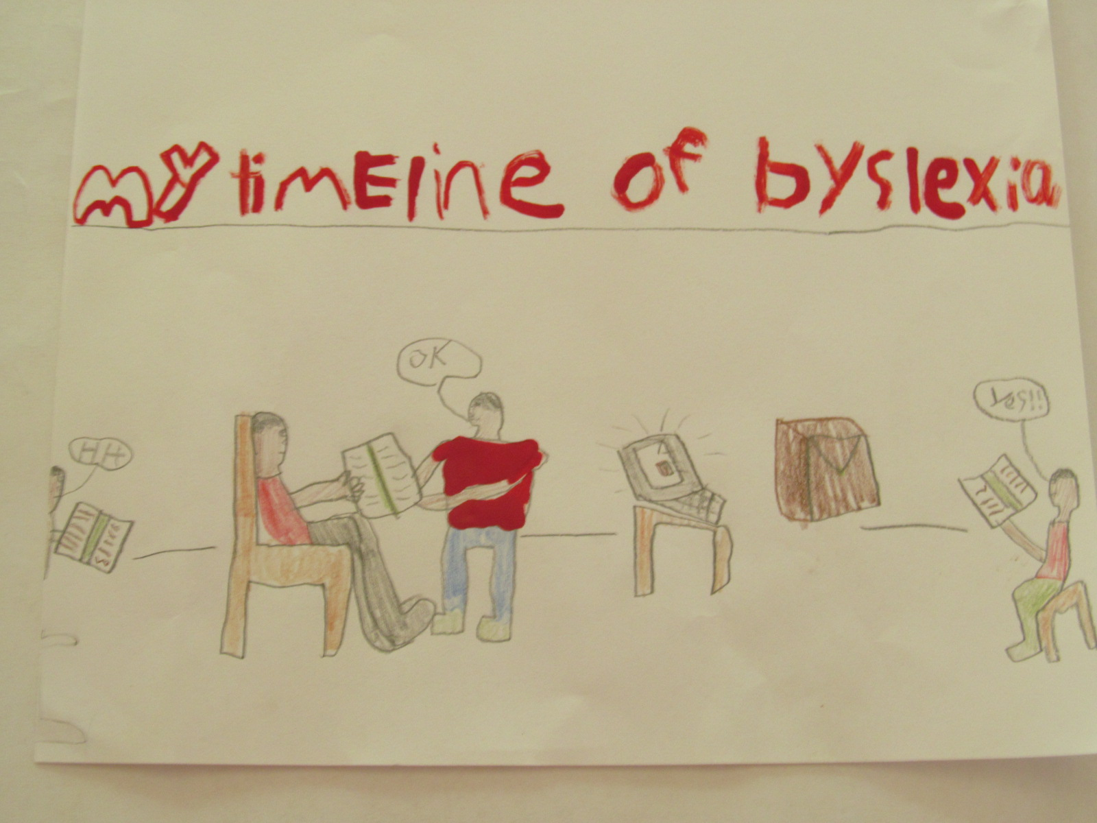 Dyslexia A 9 Year Old S Story Cheri Gamble
