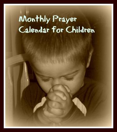 photograph regarding Printable Monthly Prayer Calendar identified as Prayer Calendars Cheri Gamble