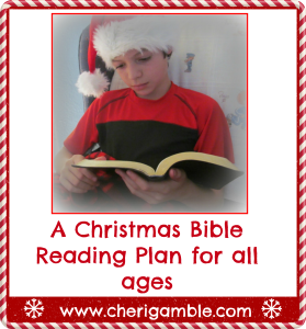 Christmas Bible Reading Plan for families