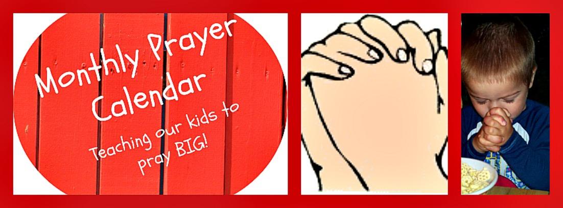 photo regarding Printable Monthly Prayer Calendar identified as Prayer Calendars Cheri Gamble