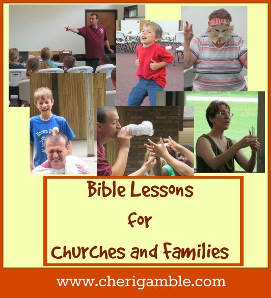 Bible lessons for churches and families