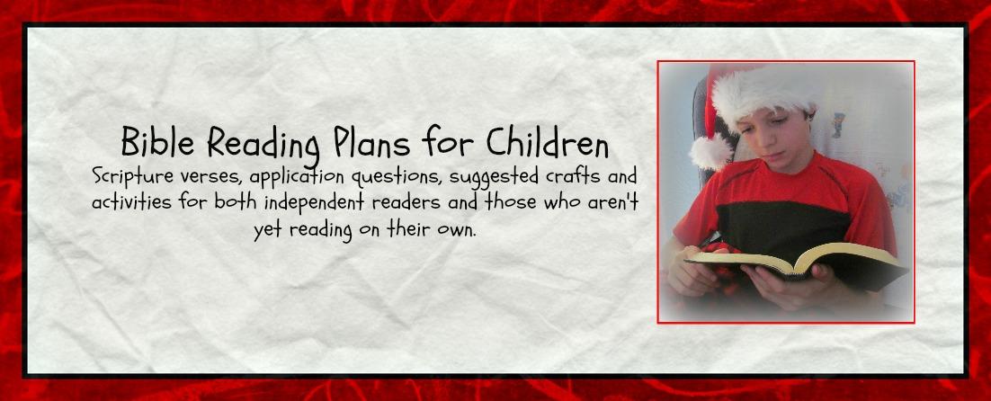 Bible Reading Plans – Cheri Gamble