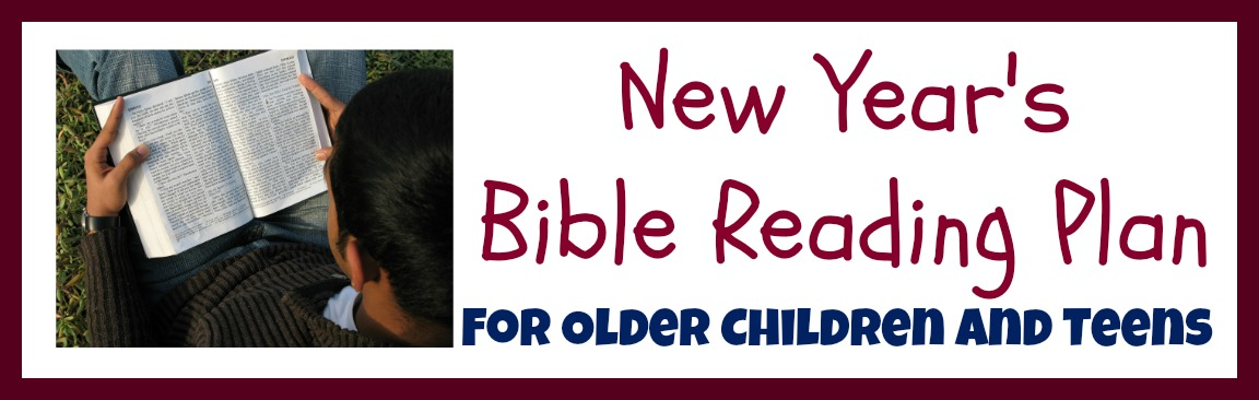 New Year\'s Bible Reading Plan for Independent Readers – Cheri Gamble