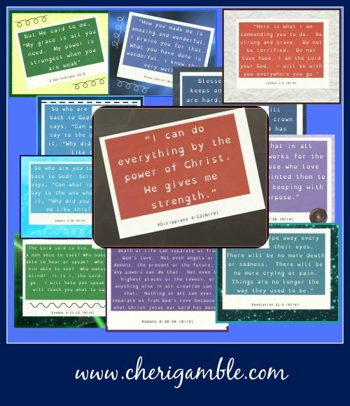 10 encouraging verses for children with dyslexia and their parents