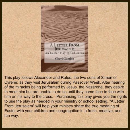 A Letter From Jerusalem