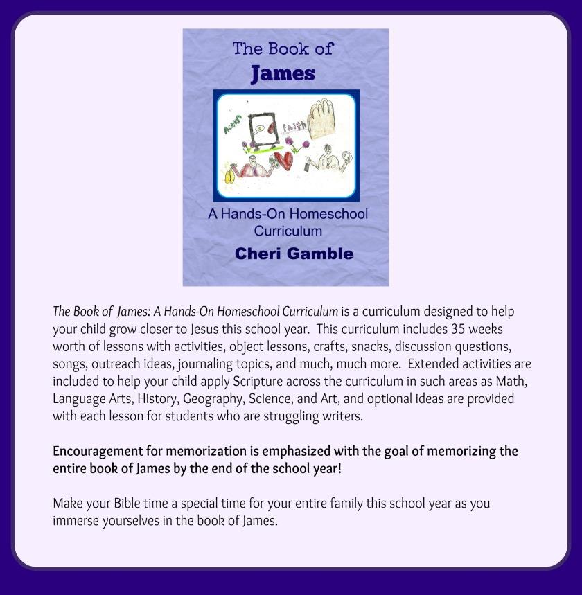The Book of James Bible Curriculum