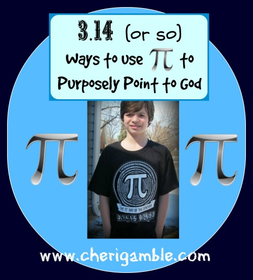 Ways to use pi to purposely point to God