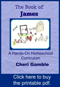 The Book ofJames: A Hands-On Homeschool Curriculm  pdf file