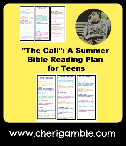 The Call a summer Bible reading plan for teens