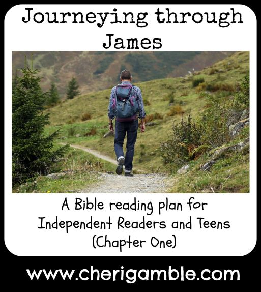 James Chapter One Bible Reading Plan for Independent Readers and Teens