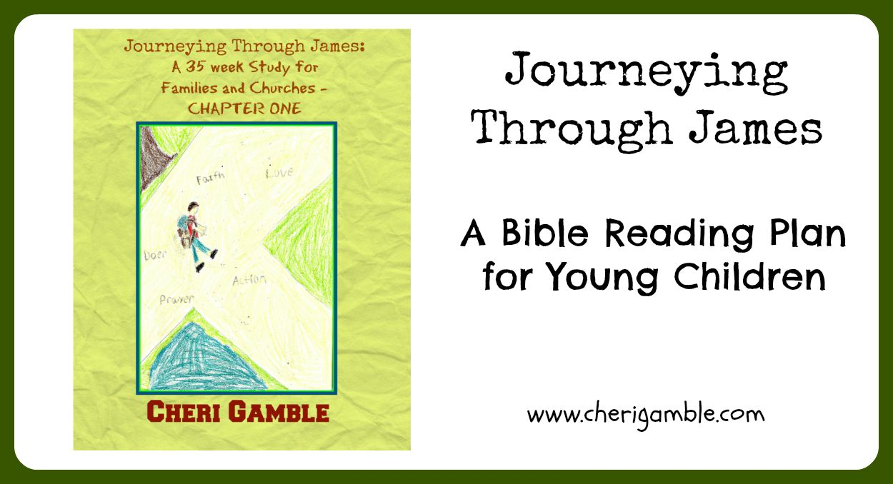 journeying through james a bible reading plan for young children