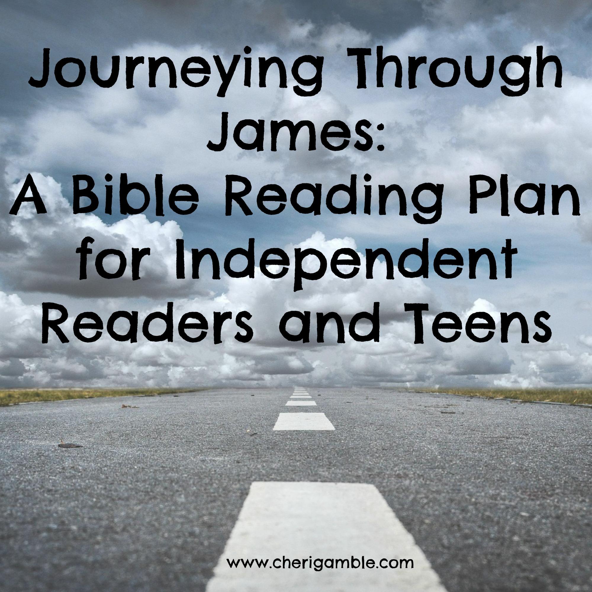Bible Reading Plans for Children – Cheri Gamble