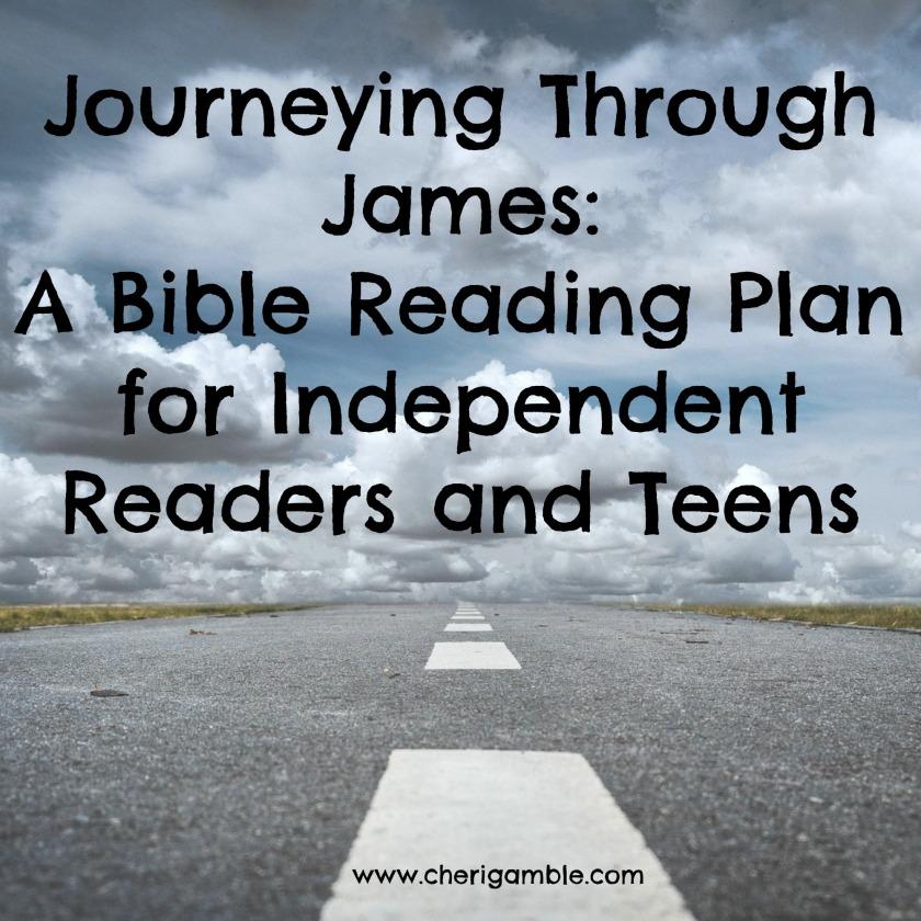 Journeying Through James Reading Plan Chapter Three