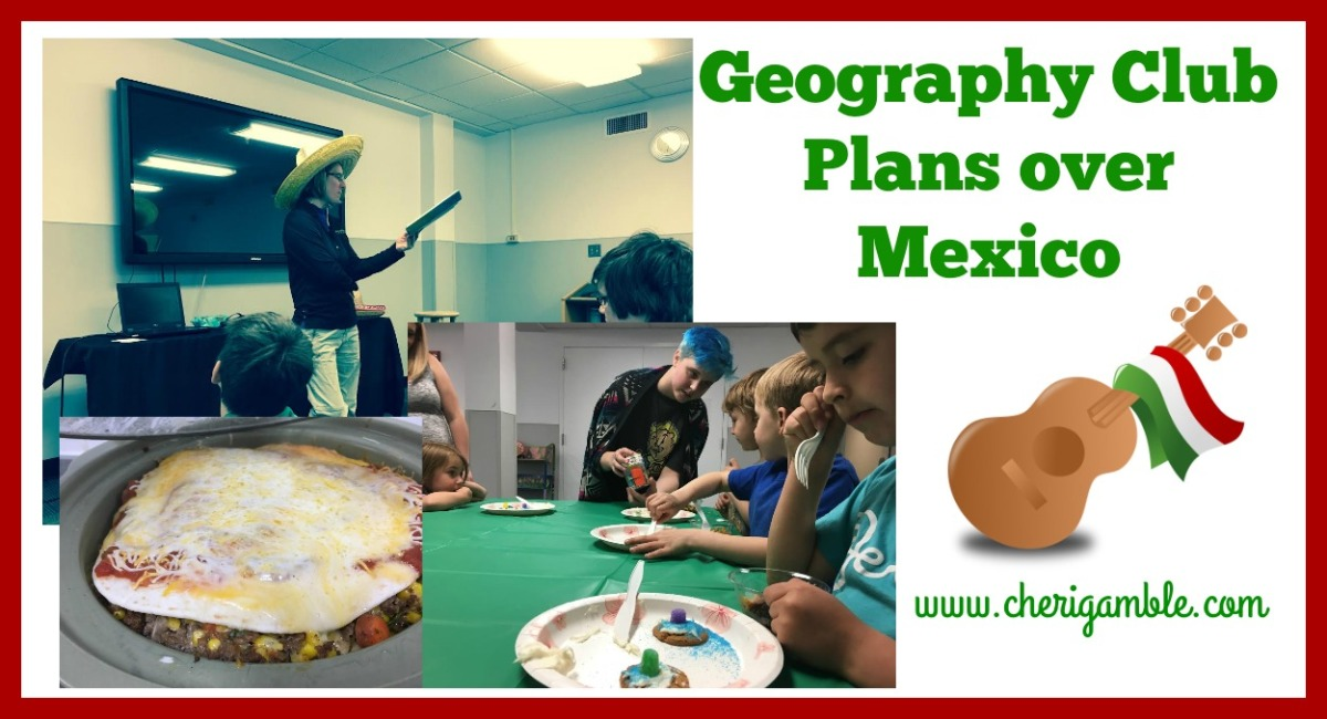 Geography Club Lesson Plans overMexico