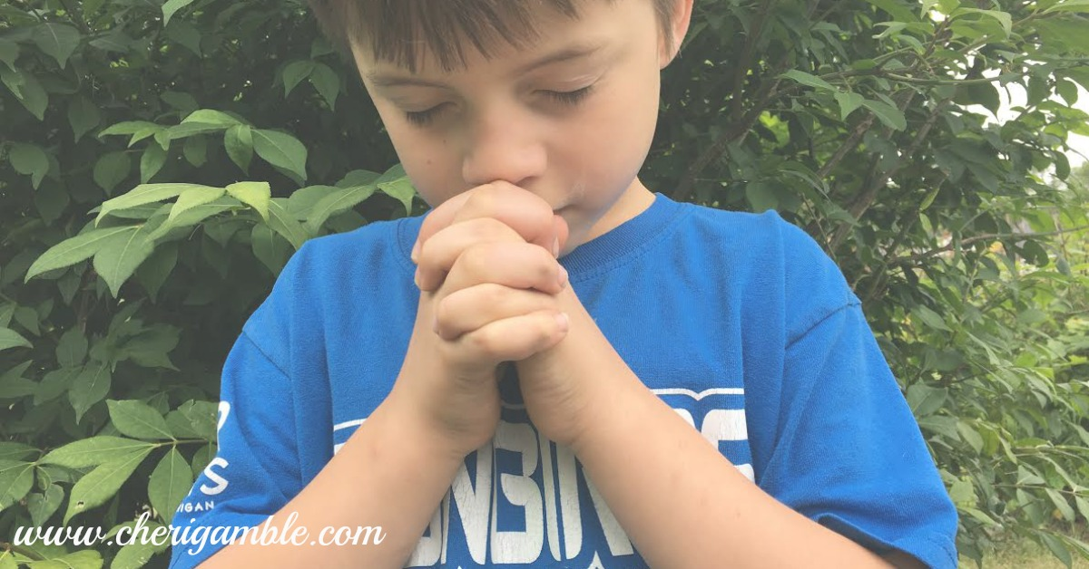 June Prayer Calendar for Children