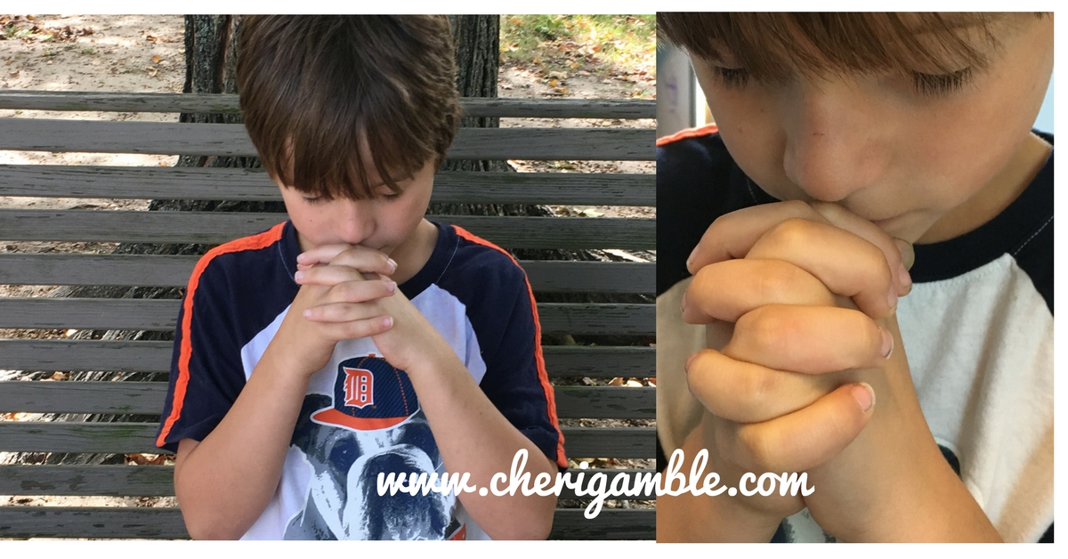 July Prayer Calendar for Kids