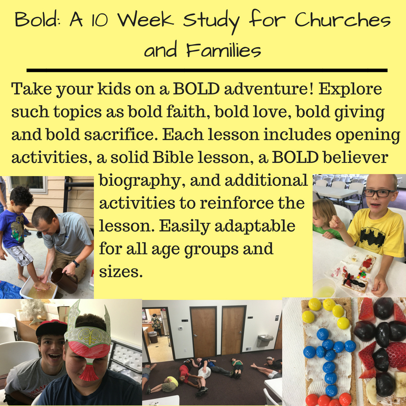 Bold_ A 10 Week Study for Churches and Families