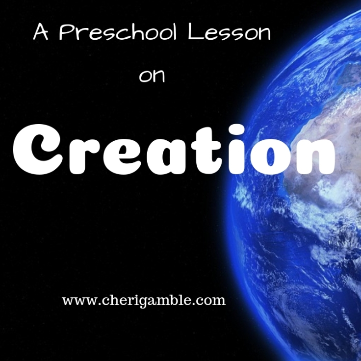 A Preschool Lesson