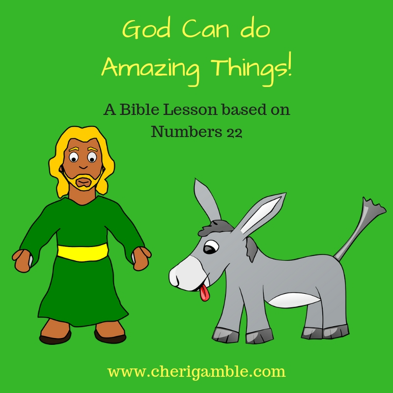 God Can do Amazing Things!