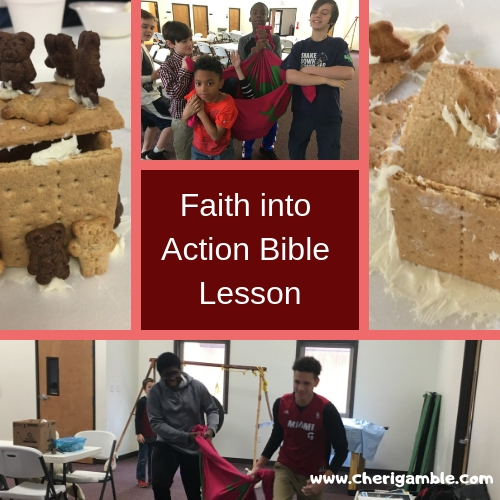 Faith into Action Bible Lesson